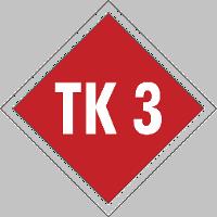 Schild Terrainkurweg 3