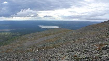 Sokosti Fjell im Urho-Kekkonen-Nationalpark