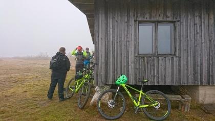 Radfahren darf man nur auf ausgewiesenen Trails