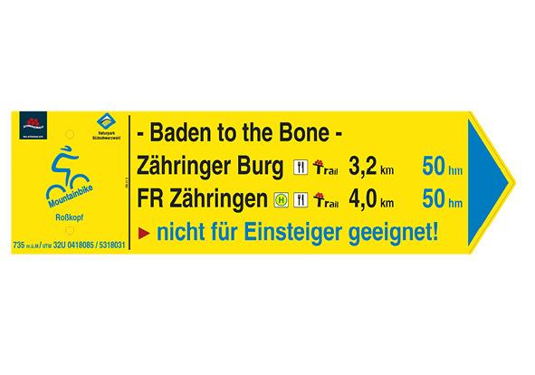 MTB-Trail-Tour mit Baden to the Bone-Downhill