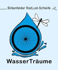 Wegelogo Birkenfelder RadLust-Schleife Wasserträume