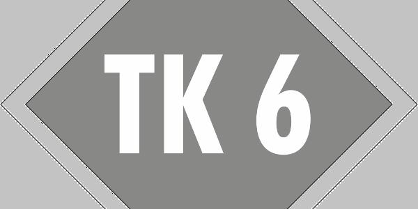 Schild Terrainkurweg 6