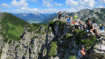 Klettersteig Iseler : Die schönsten klettersteige in schattwald