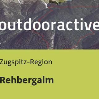 Wanderung in der Zugspitz-Region: Rehbergalm