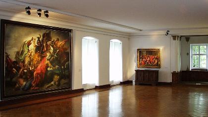 Der Rubenssaal im Siegerlandmuseum