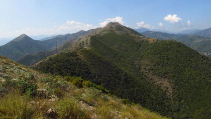 Grat vom Monte Croce zum Monte Acuto