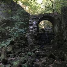 Abstieg im Schindergraben