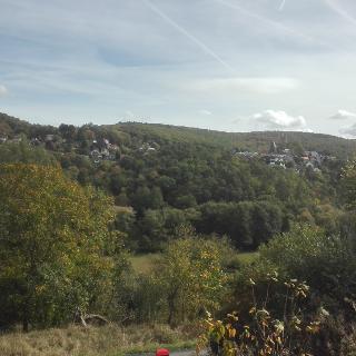 Sicht auf Altweilnau von der Parkstraße in Neuweilnau