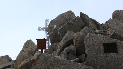 Der Gipfel des Gr. Löfflers