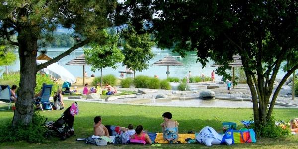 Naturerlebnispark Schlosssee Salem mit Wasserspielplatz