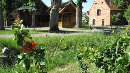 Historische Holzkegelbahn in Salem-Weildorf