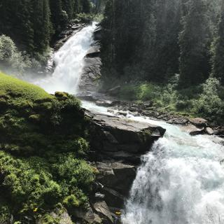 Endspurt - Die Krimmler Wasserfälle
