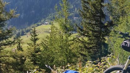 Blick zur Edelweißhütte