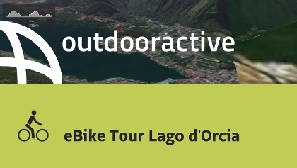 Interaktives 3D Erlebnis: eBike Tour Lago d'Orcia