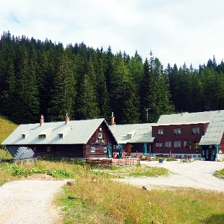Oberst-Klinke Hütte 1486m