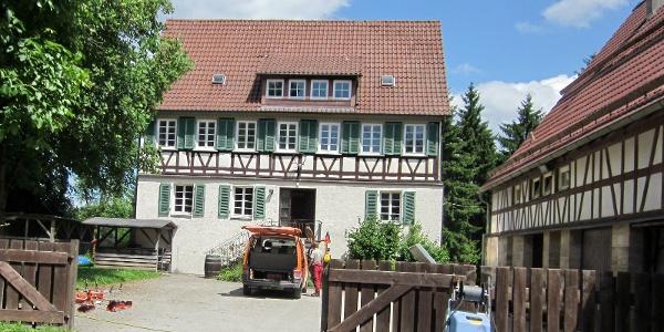 Das Forsthaus Warthof