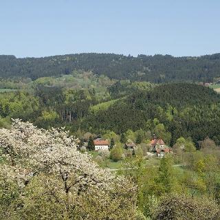 Aussicht vom Weg nach Autsdorf nach Pürgl