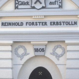 Der Eingangsportal des Reinhold-Forster-Erbstollens in Eiserfeld