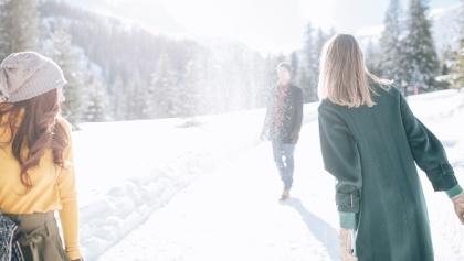 Winterwanderung am Rüfikopf