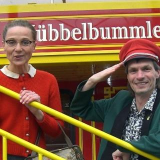 Das Siegerländer Kabarettisten-Duo Weigand und Genähr auf dem