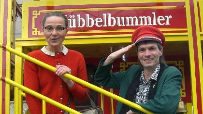 """Das Siegerländer Kabarettisten-Duo Weigand und Genähr auf dem """"Hübbelbummler"""""""