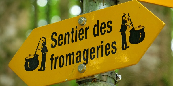 Sentier des fromageries.