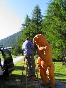 Zahnservice bei Schmelzra vor Bärenfest 2010