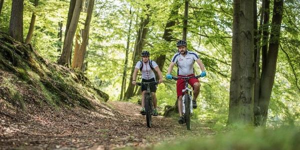 Radsport im Thüringer Wald am Rennsteig