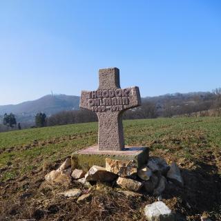 ehemaliges Friedhofkreuz eines Freundes das entsorgt werden sollte!
