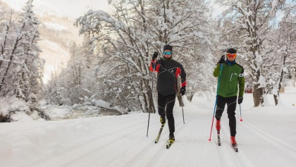 Pure cross-country skiing enjoyment!