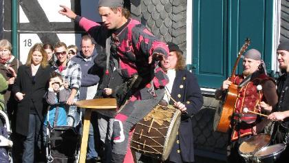 Händler, Handwerker, Künstler und Gaukler live zu erleben