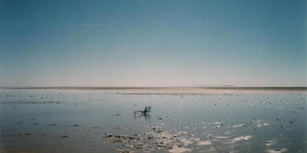 Lake Eyre in South Australia