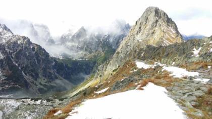 Schnee, Gipfel, Nebel