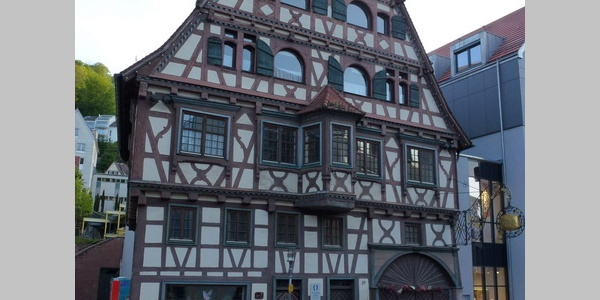 """""""Altdeutsches Haus"""",älteste württembergische Porzellanfabrik,Calw"""