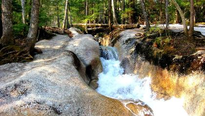 Torrent in the White Mountains, New Hampshire