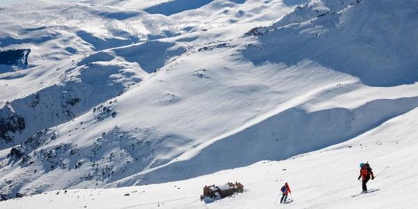 das Refugio Poqueira in herrlicher Winterlandschaft