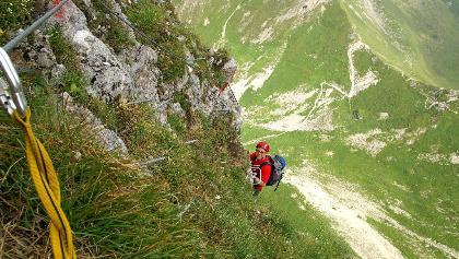 Klettersteig Gantrisch.