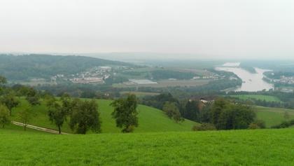Blick nach Wilhering und Ottensheim
