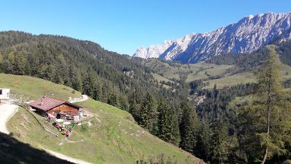 Abstieg zur Brentenjochalm