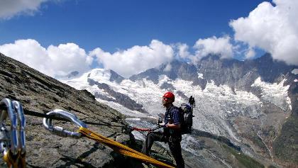 Klettersteig Wallis : Klettersteige im wallis: die 10 schönsten klettersteig touren in der