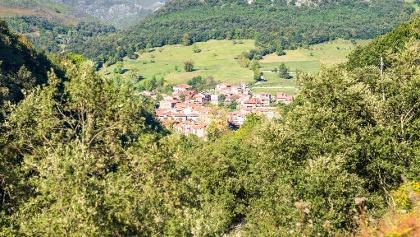 View to Arenas de Cabrales