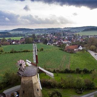 Luftaufnahme Bentorfer Mühle