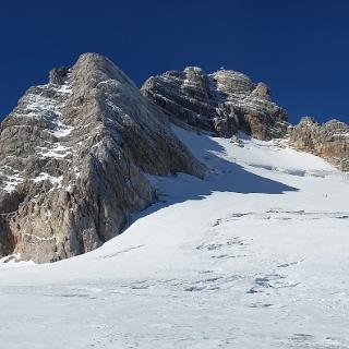 Dachstein vom Weg zur Seethalerhütte