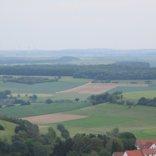 Blick vom Kahlenberg über Böckweiler