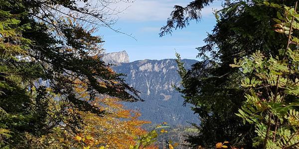 Blick über das Lattengebirge