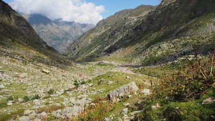 Rückblick ins Valle Vogna