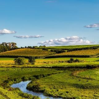 Landschaft in Wisconsin
