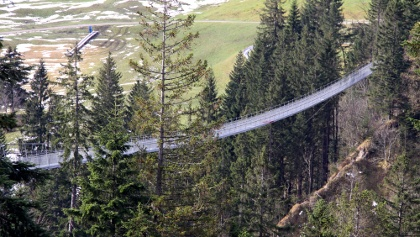 Hängebrücke Raiffeisen Skywalk.