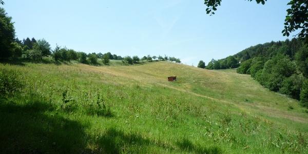 Schöne Hügellandschaft