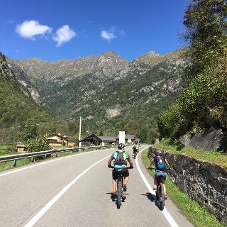 En-route in Sesia valley